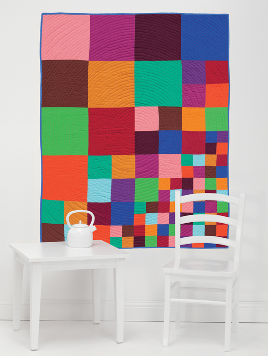 Scattering Squares quilt