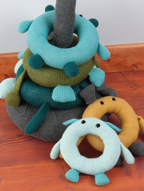 Knit a Monster Nursery - Practical and Playful Knitted Baby Patterns