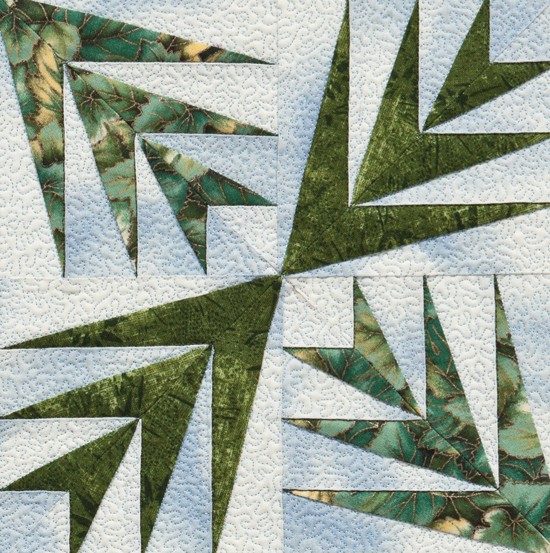 Palm Branches quilt block