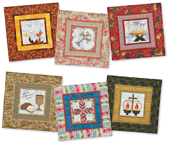 A Musical Gift of Love wall quilts