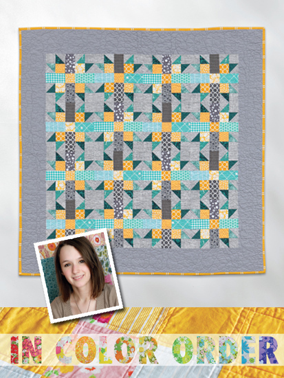 Mini Claw Throw quilt