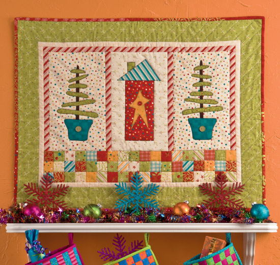 Martingale Christmas Quilts From Hopscotch Ebook