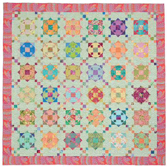Diamond Ring quilt