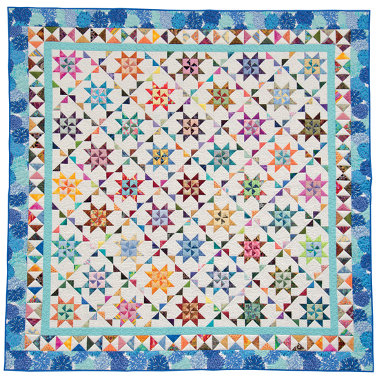 Martingale Scrap Quilts Fit For A Queen Print Version