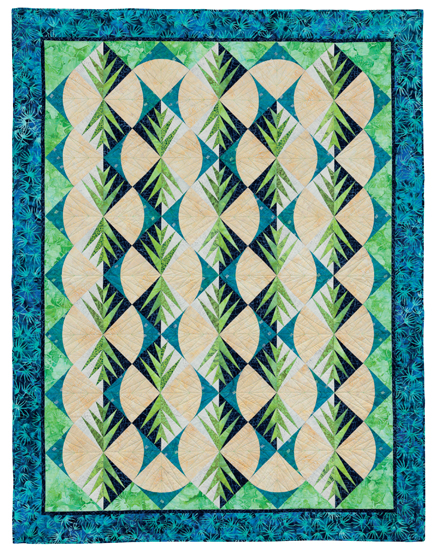 Fern Fancy quilt