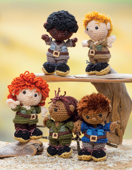 Zookeepers from Crochet a Zoo