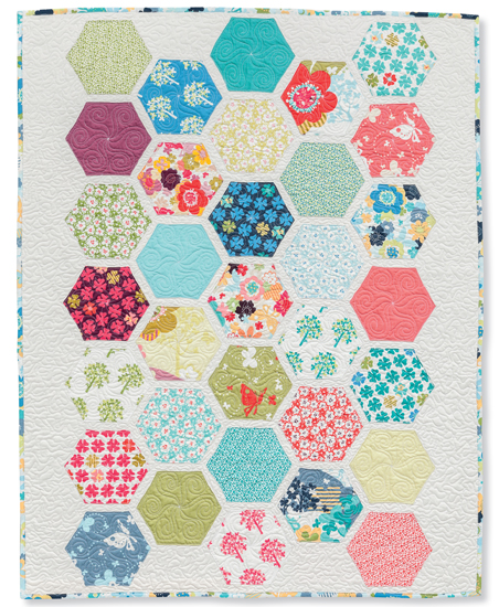 Honeycomb Hexagons quilt