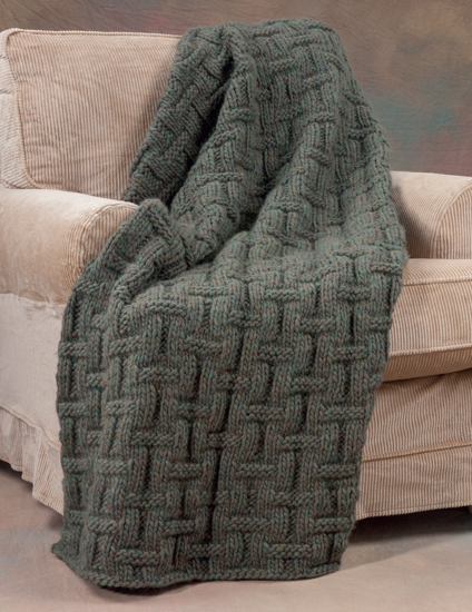 Martingale 20 Easy Knitted Blankets And Throws Print Version