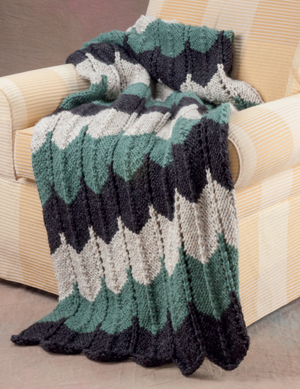 Knitting Patterns For Throws : Martingale - 20 Easy Knitted Blankets and Throws (Print ...