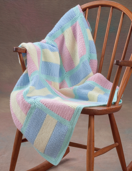 from 20 Easy Knitted Blankets and Throws