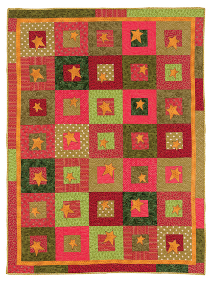 Holiday Stars quilt