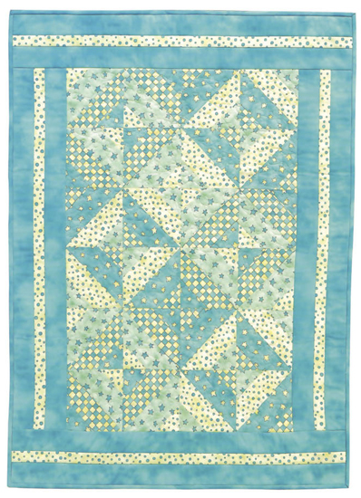 Heavenly Squares quilt