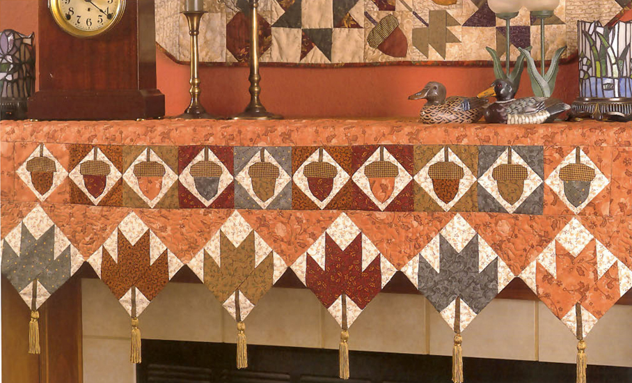 Quilts for Mantels and More 4