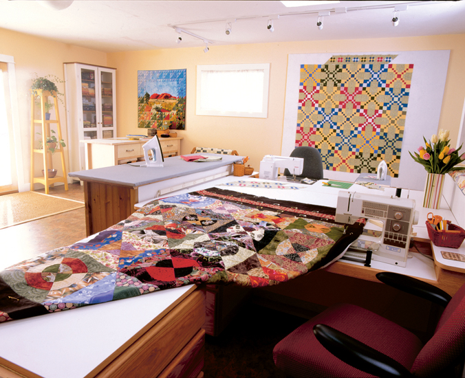 Sewing Quilting Room Ideas : Martingale - Creating Your Perfect Quilting Space eBook