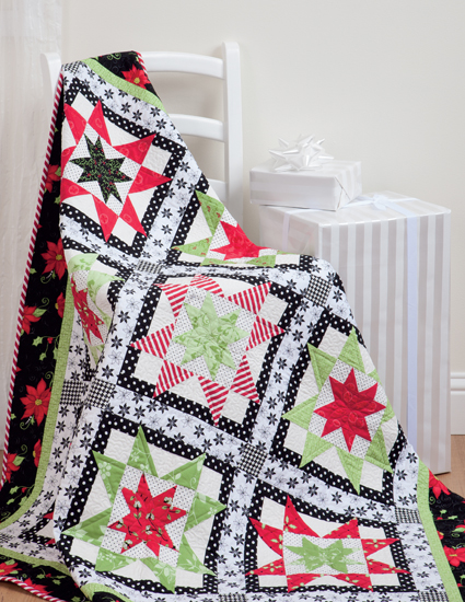 Peppermint Float quilt