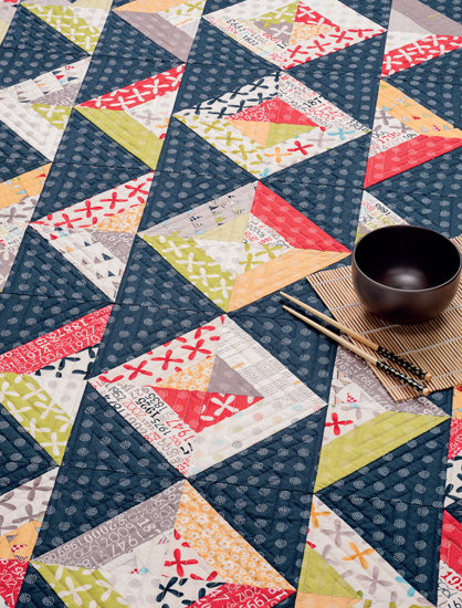Astoundingly simple strip quilts (+ fabric giveaway!) - Stitch ... : strip quilts - Adamdwight.com
