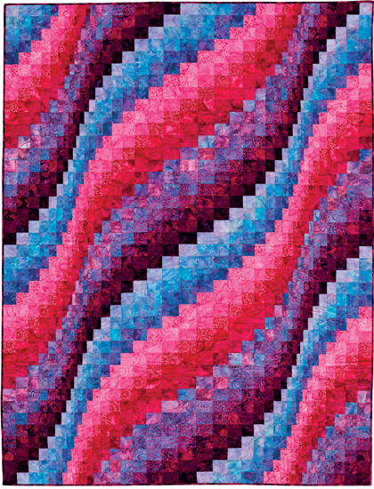 How To Bargello Quilt With A Twist Fabric Giveaway Stitch Magnificent Twisted Bargello Quilt Pattern Free