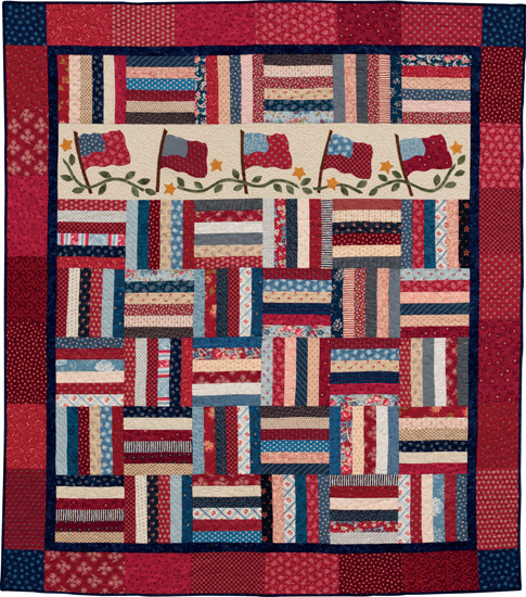 Freedom Waves quilt