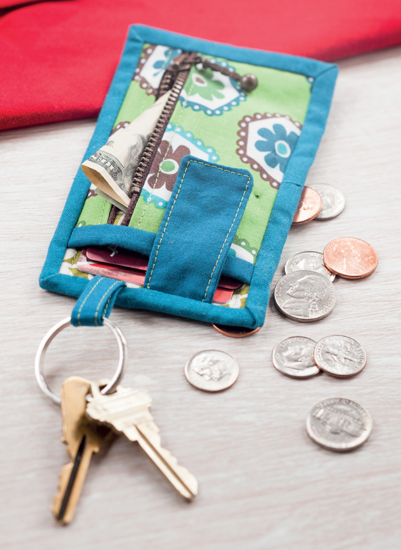 Card and Key Wallet