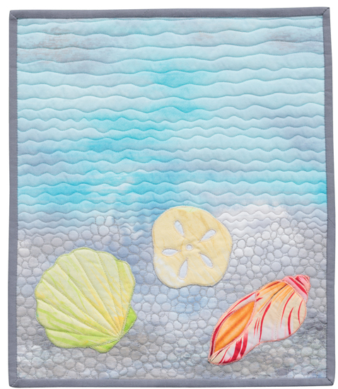 At the Beach quilt