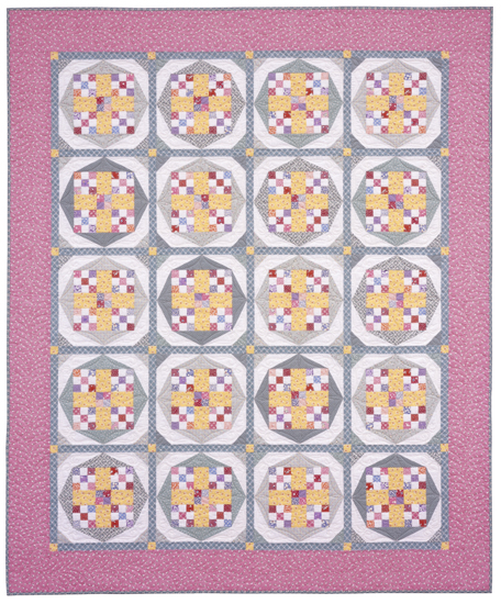 Chinese Checkers from Quilt Revival