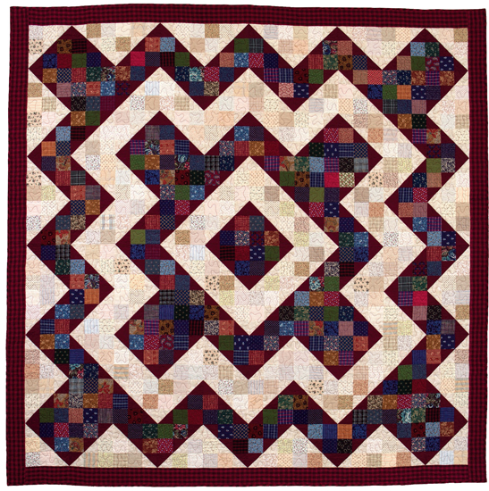 Perkiomen Valley Nine Patch quilt