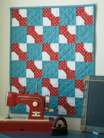 Vintage Bow Ties quilt