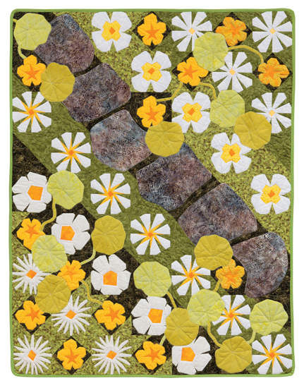 Martingale A Paper Pieced Garden Print Version Ebook