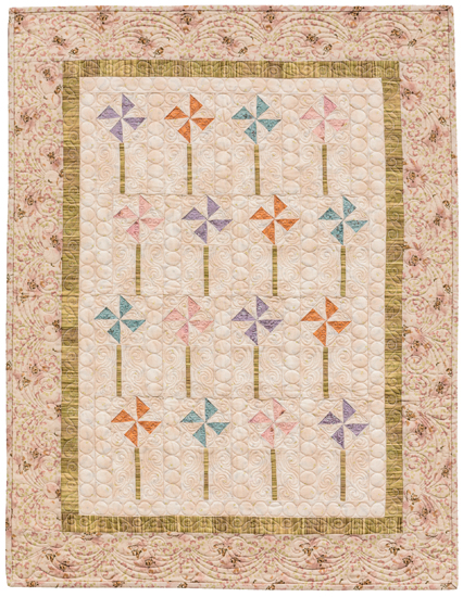 Pinwheels in the Park quilt