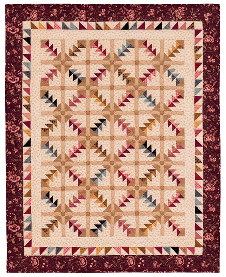 Split Geese quilt