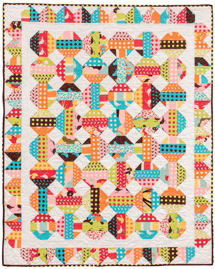 Snowball Explosion quilt