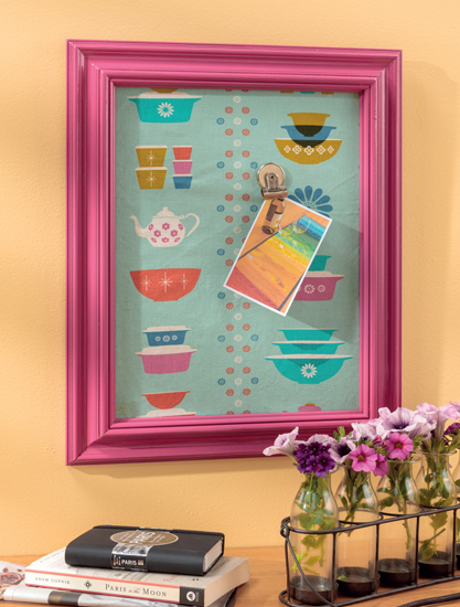 Magnetic Message Board by Lindsay Conner