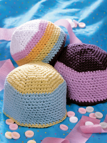Hats from Crochet from the Heart
