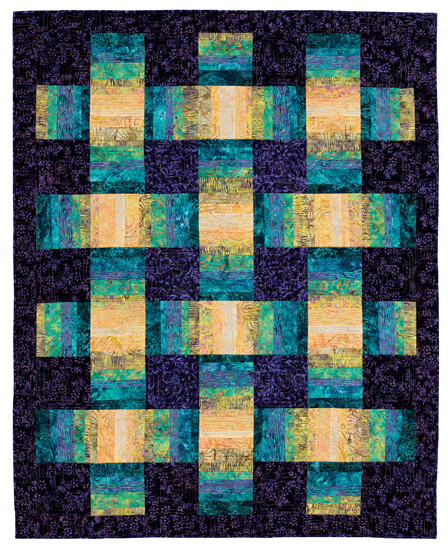 Loosely Woven quilt