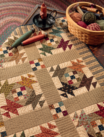 Lunch Box Social quilt