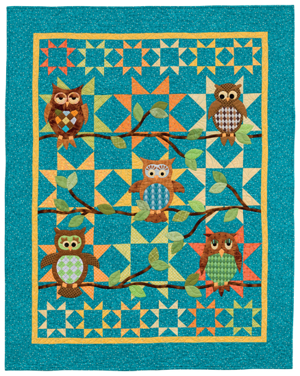 Whoo Dat? quilt from Animal Parade