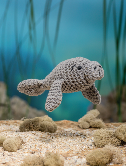 Amigurumi Manatee Pattern : Bathtime Buddies ~ 20 Crocheted Animals from the Sea ...