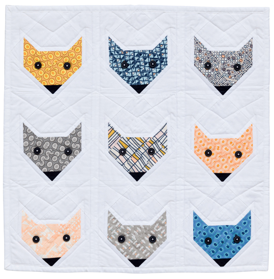 Fox in a Box quilt