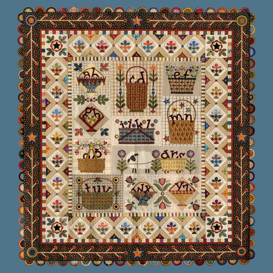 Letter Carriers quilt by Janet Stone