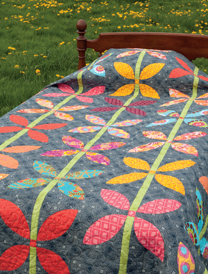 Growing Up quilt from Vintage Vibe