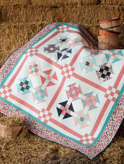 Playing Favorites quilt from Vintage Vibe