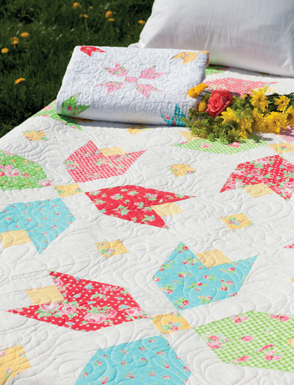 Sugar and Sugar Sweet quilts from Vintage Vibe