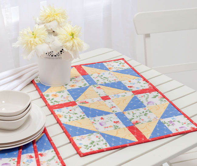 Blueberries and Bananas place mats