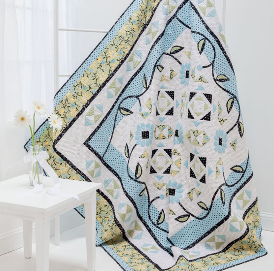 Breezy quilt from A Flair for Fabric