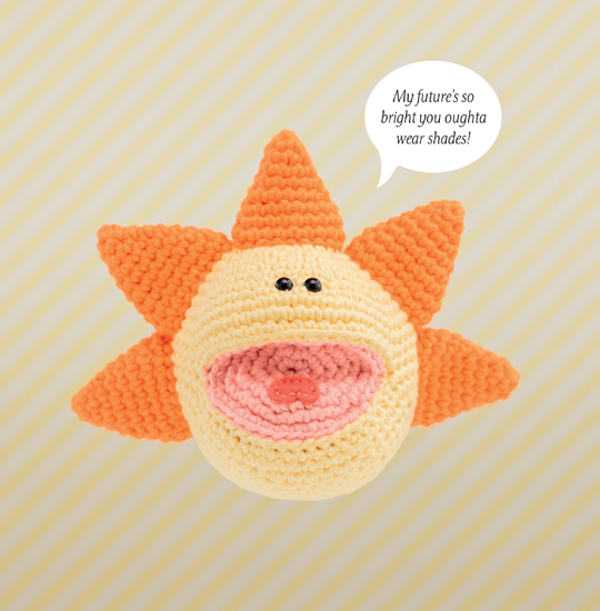 Crocheted Sunshine