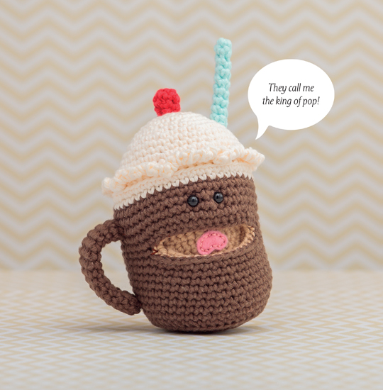 Crocheted Root-Beer Float