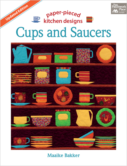 Martingale - Cups and Saucers (Print version + eBook bundle)