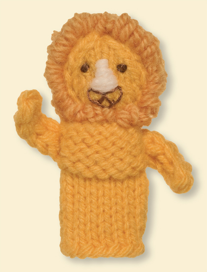 xal knitted finger puppets easy to make toys meg leach.