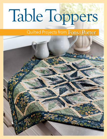 Martingale Table Toppers Print Version Ebook Bundle