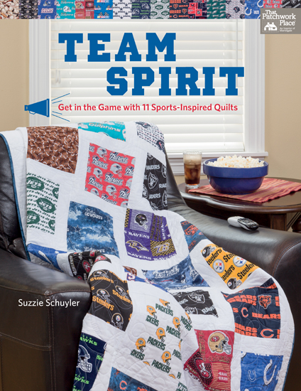 Go team quilts! Winning projects for sports fans (+ fabric ... : sports themed quilts - Adamdwight.com